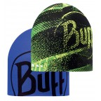 Шапка BUFF COOLMAX REVERSIBLE HAT R-FLASH LOGO YELLOW - BLUE INK (BU 111507.117.10.00)