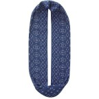 Шарф BUFF COTTON JACQUARD INFINITY STICH DENIM (BU 111702.788.10.00)
