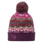 Шапка BUFF Knitted & Polar Hat Idris plum (BU 111022.622.10.00)