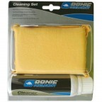 Набор для чистки накладок Donic Cleaning set (foam cleaner 100 ml + sponge in a box) (828521)