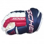 Перчатки хоккейные Fischer Hockey SX9 Gloves Blue / Red / White, 14.26 (H03514.26.14)