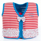 Плавательный жилет Konfidence Original Jacket Marthas Red Stripe 4-5 лет (KJ16-C-05)