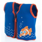 Плавательный жилет Konfidence Original Jacket Scoot the Clownfish 4-5 лет (KJ14-C-05)