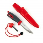 Нож-огниво LIGHT MY FIRE FireKnife Red Pin-pack Red (LMF 12113010)