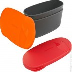 Набор посуды LIGHT MY FIRE SnapBox Oval 2-pack Red-Orange (LMF 40418613)