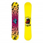 Сноуборд Santa Cruz Screaming hand yellow 154