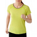Термофутболка Smartwool SO134.758-S Women's PHD Ultra Light Short Sleeve citron p.S