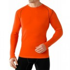 Термофутболка Smartwool SS600.825-L Men's NTS Mid 250 Crew bright orange p.L