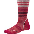 Носки Smartwool SW083.486-S Women's PhD Outdoor Light Pattern Crew hibiscus р.S