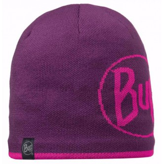 BUFF Knitted & Polar Hat Logo plum (BU 111000.622.10.00)
