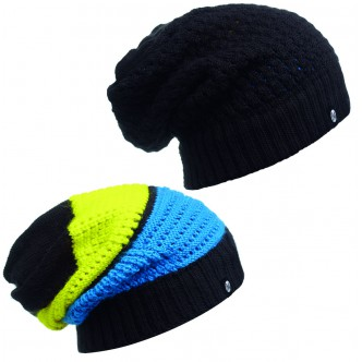 BUFF Knitted Neckwarmer Hat Aidan black (BU 111036.999.10.00)