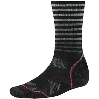 Smartwool SW219.001-M PHD Outdoor Light Pattern Crew black р.M