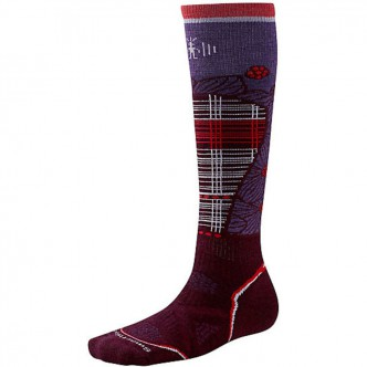 Smartwool SW268.762-L Women's PhD Ski Medium Pattern aubergine р.L