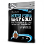 Протеин BioTech USA Nutrition NITRO PURE WHEY GOLD 454 g пакет - creamy banana