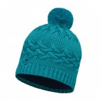 Шапка BUFF Knitted & Polar Hat Savva Blue Capri (BU 111005.718.10.00)