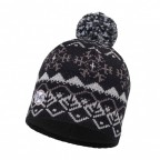 Шапка BUFF Knitted & Polar Hat Vail Black (BU 113339.999.10.00)