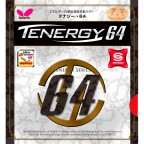 Накладка Butterfly Tenergy 64 Red 2.1 mm