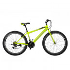 "Горный велосипед Cross Ranger 26"" 15"" 2020 Neon yellow-silver (26CJPr20-11)"