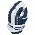 Перчатки хоккейные Fischer Hockey SX9 Gloves Blue / White, 15 (H03514.25.15)