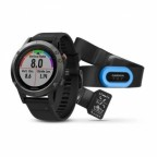 Спортивные часы Garmin Fenix 5 Performer Bundle Slate grey with black band (W1708)