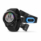 Спортивные часы Garmin Fenix 5 Sapphire Performer Bundle Black with black band (W1711)