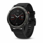 Спортивные часы Garmin Fenix 5 Slate grey with black band (W1705)