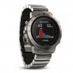 Спортивные часы Garmin Fenix Chronos -Titanium with Brushed Titanium Hybrid Watch Band (W1404)