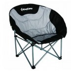 Стул KingCamp Deluxe Moon Chair (KC3889) Black/grey