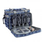 Набор для пикника KingCamp Picnic Cooler Bag-4 (KG2713) Blue CHECKERS