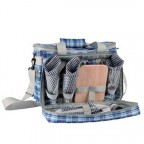Набор для пикника KingCamp Picnic Icy Bag 3 (KG2708P) Blue CHECKERS