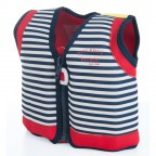 Плавательный жилет Konfidence Original Jacket Hamptons Navy Stripe 4-5 лет (KJ15-C-05)