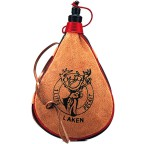 Фляга Laken Leather canteen 1 L. straight form (PK1000-R)