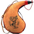 Фляга Laken Leather canteen 2 L. kidney shape (PK2000-C)