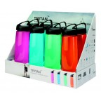 Бутылка Laken Tritan Classic 0,45 L Display 8 (2blue, 2magenta, 2green, 2orange) (TN45SET)