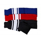 Гетры OPUS Ice-Hockey Socks, черно-белые  (35401/BLK L)