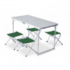 Набор мебели Pinguin SET TABLE + 4 STOOLS (PNG 621.Green)