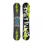Сноуборд Santa Cruz Rock Hand Green 151