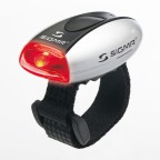 Фонарь Sigma MICRO SILVER/LED-Red (SD17234)