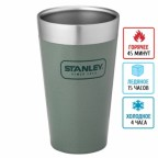 Термостакан Stanley Adventure Stacking 0.47 Л зеленая (6939236332583)