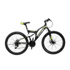 "Горный велосипед Titan Panther 26"" 18"" 2019 Black-neon Yellow-white (26TWD18-81-1)"