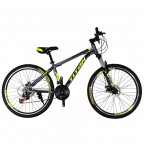 "Горный велосипед Titan Protey v.2 26"" 19"" 2019 Gray-Black-Neon yellow (26TJS19-169)"