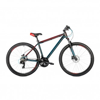 "AVANTI VECTOR 650B 27,5"" 19"" Черно Синий c Красным 2019 (AVT-640M19-BLK/BLUE&RED-S-19)"