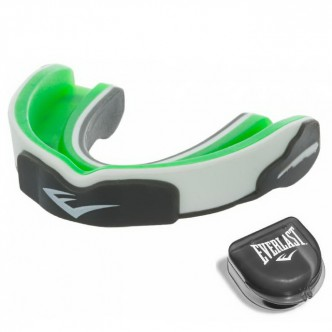 EVERLAST Evergel™ Mouthguard (1400008-EVERGEL), зелёный/серый