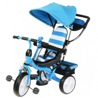 KidzMotion 3-х колесный Tobi Junior BLUE (115001/blue)