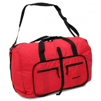 Members Holdall Ultra Lightweight Foldaway Large 71 Red (922549)