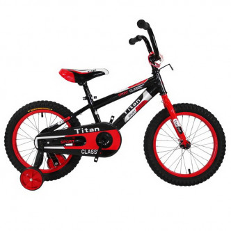 "Titan BMX 16"" 2018 eco black-red (16TCK18-105-3)"
