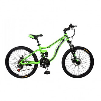 "Titan Pioneer 24"" 13"" 2019 Green-Gray-Black (24TJD18-83-1)"