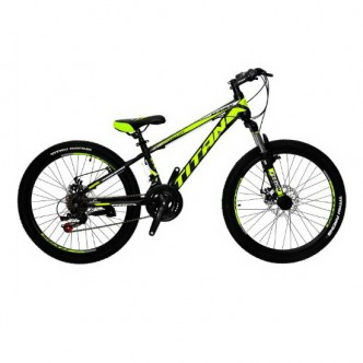 "Titan Spider 24"" 12"" 2018 Black-Lightgreen-White (24TJS18-16-4)"