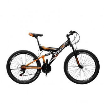 "Titan Tornado 26"" 18"" 2019 Black-Orange-White (26TWD18-79-4)"