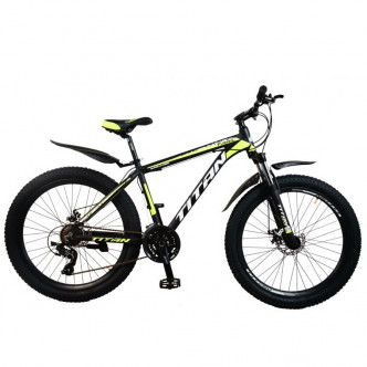 "Titan Trail 26""х3 17"" 2019 Black-Neon Yellow-White (26TJ3IN18-69-1)"
